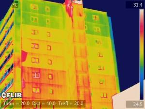 外壁 赤外線調査